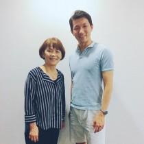宇津木妙子ソフトボール元日本代表監督からお話&ノックをいただきました!