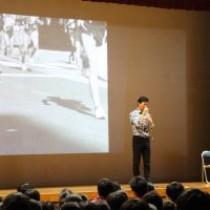 【いずれこの子たちが僕らの大きな力に!】茨城県水戸市立千波中学校さんで講演  教育講演家 木村玄司