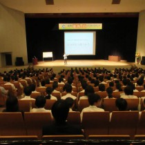 【勇気をありがとう!】 山口県光市さまにて講演  教育講演家 木村玄司
