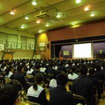 【春日井市立南城中学校さんで講演!温かい気持ちになりました! 】 教育講演家 木村玄司