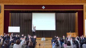 木曽町中学校さん